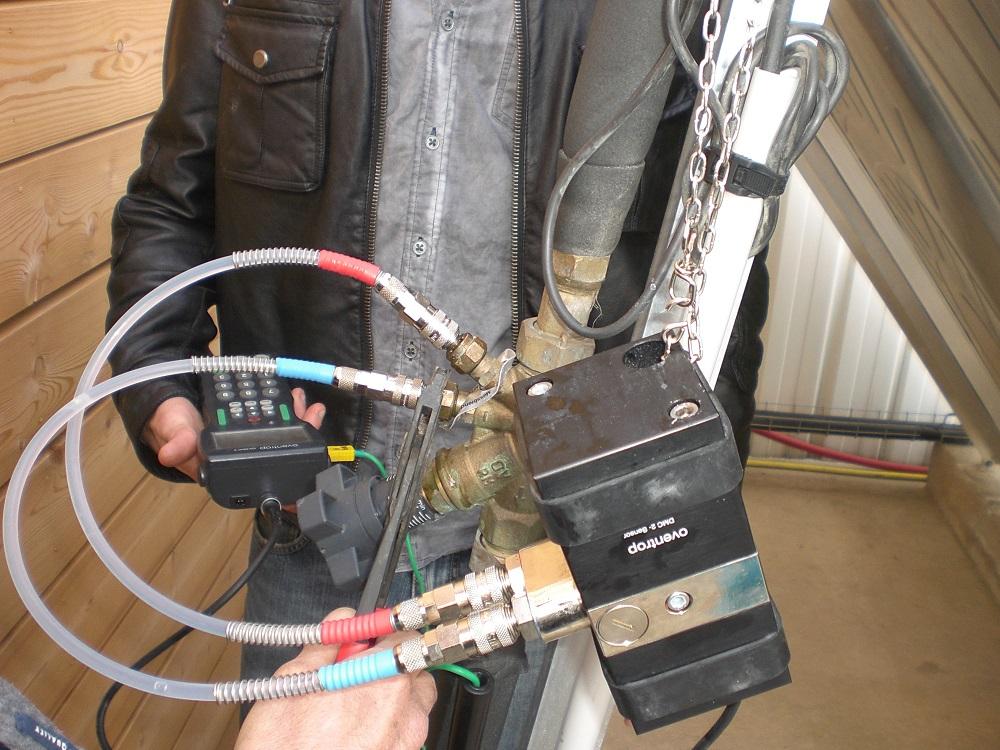 mesure du débit du fluide